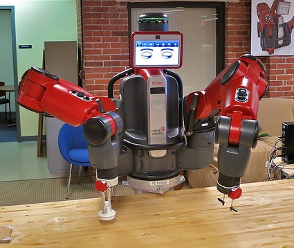 RPA's Physical Equivalent - Baxter Robot   UiPath