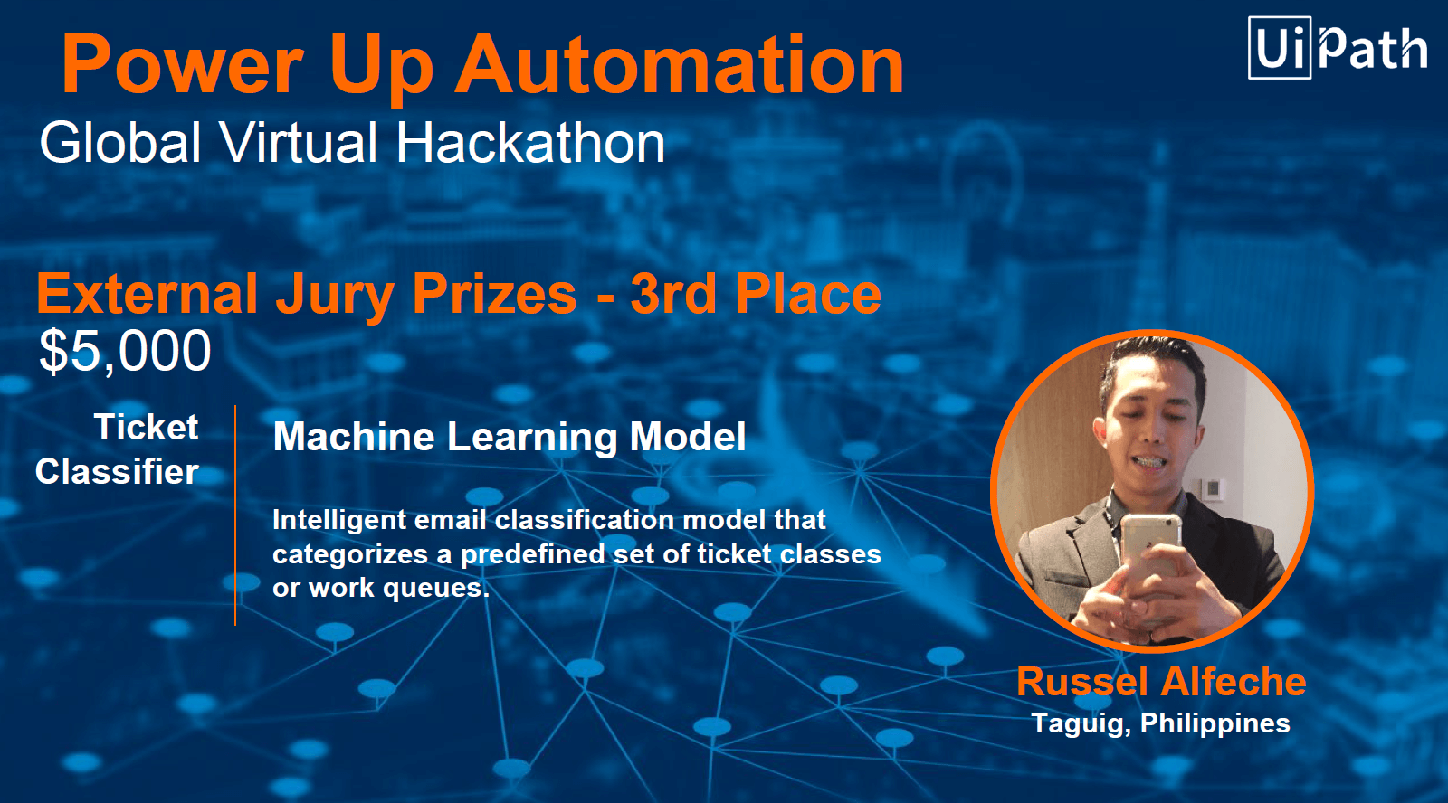 4award slide powerup automation