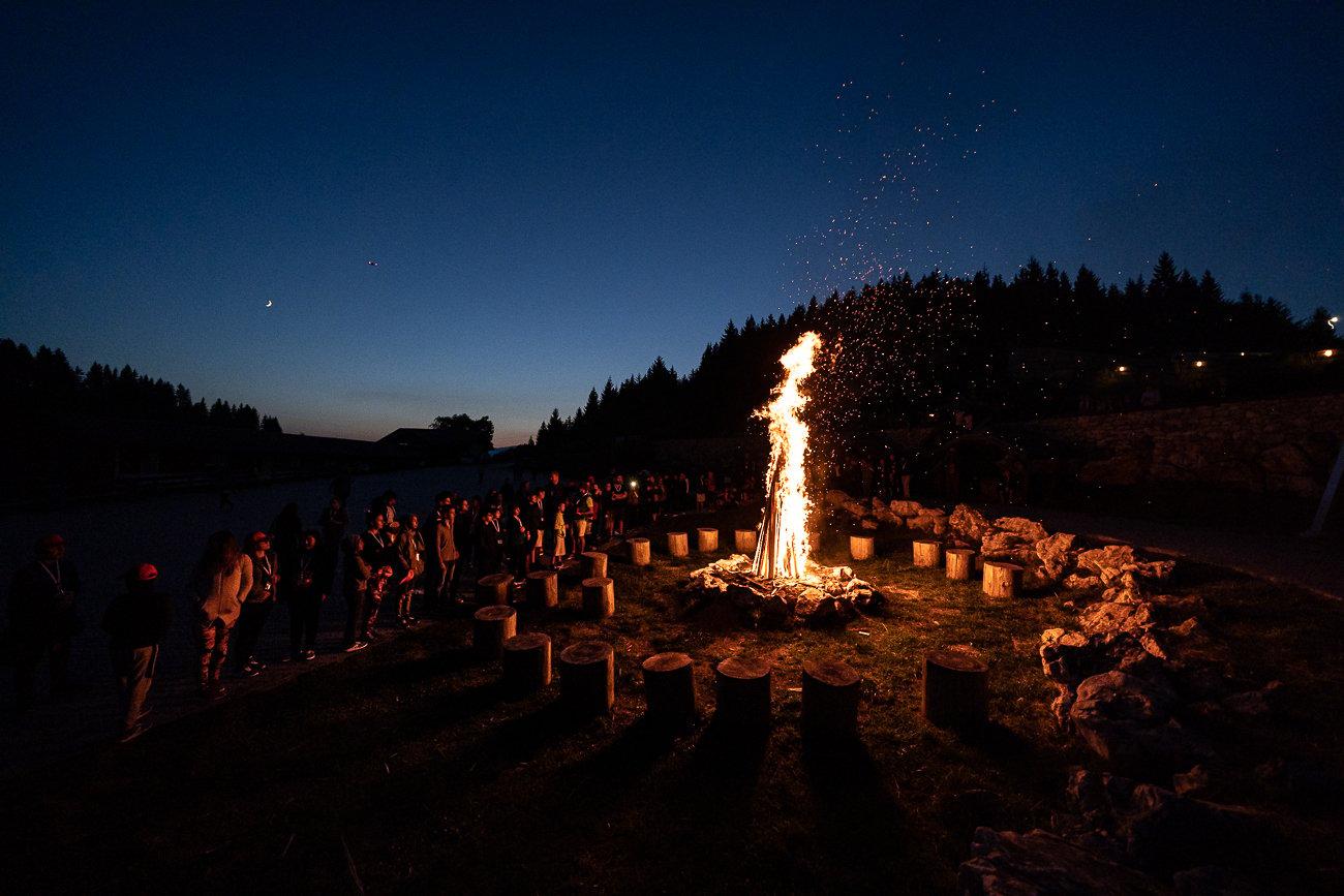 Camp fire @ Kids Summer Camp 2019
