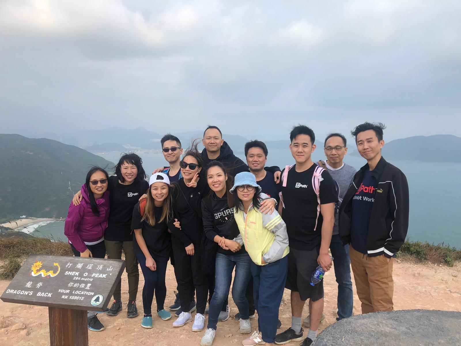 Vittoria Chan and some of her colleagues