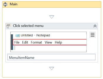 How to click an element specified by an user