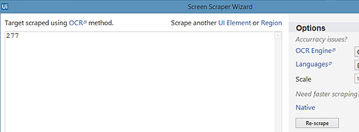 How to use Screen Scraping - the basics