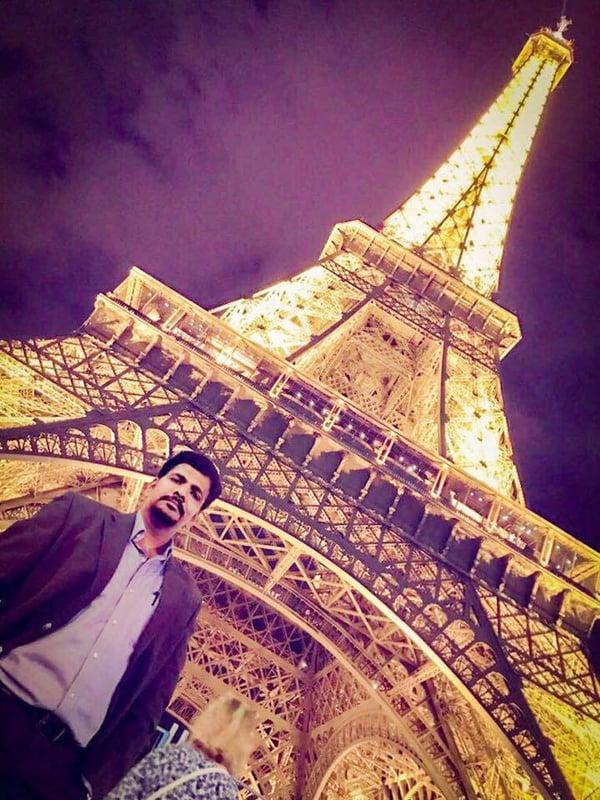 Suresh in Paris