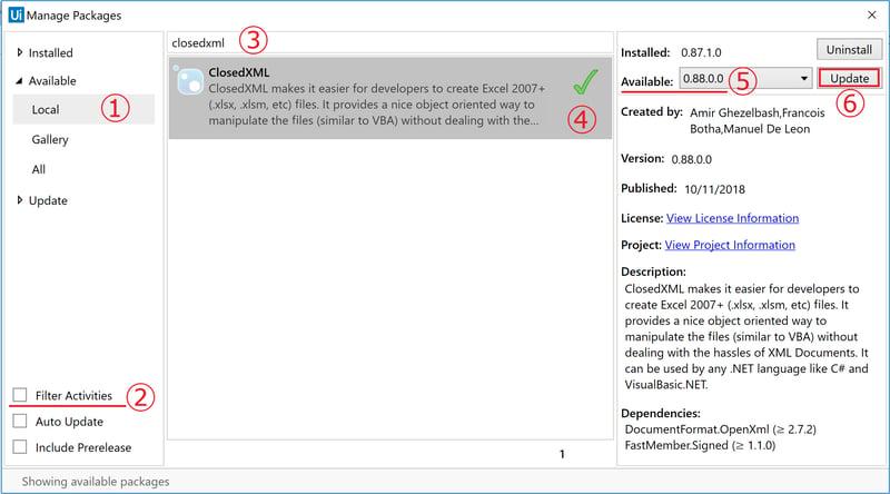 manage_packages_closedxml