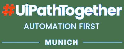 #UiPathTogether Munich 2019