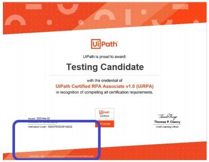 UiPath_Certification_Exam_Verification_FAQ