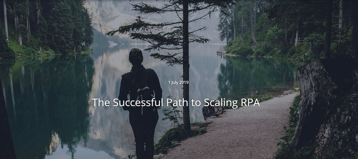 successful path to scaling