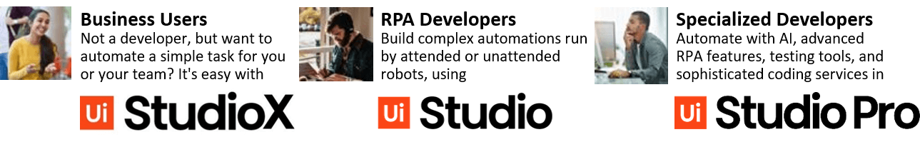 uipath-studio-studiox-studio-pro-editions