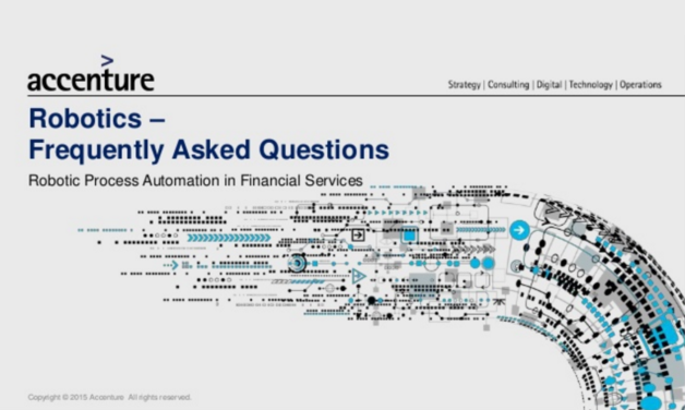 Accenture Robotic Process Automation In Financial