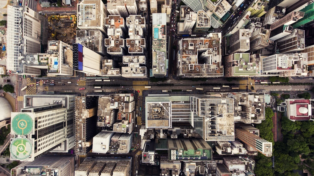 Aerial view city (1)