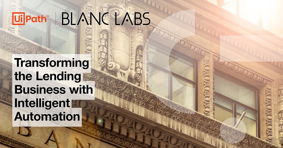 Blanc Labs and UiPath