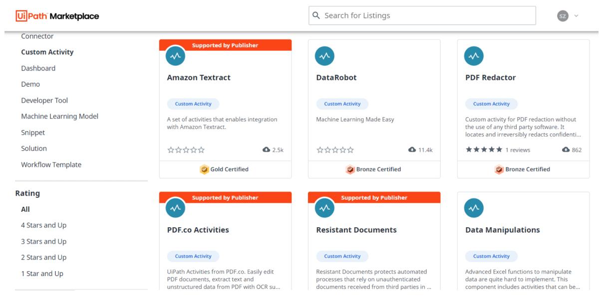 UiPath Marketplace: Enhanced for the Enterprise