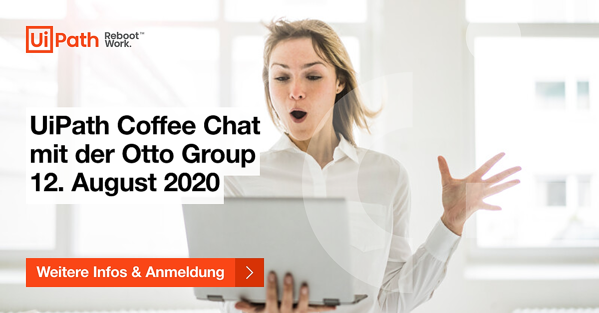 CE Coffee Chat Otto Group banner