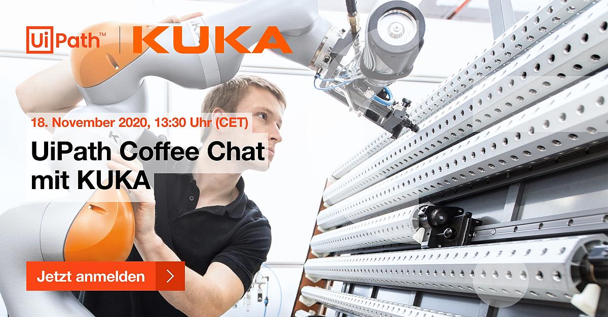 UiPath Coffee Chat mit KUKA