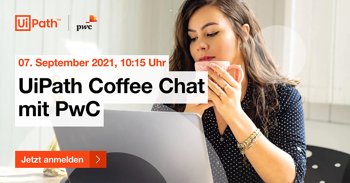 UiPath Coffee Chat mit PwC