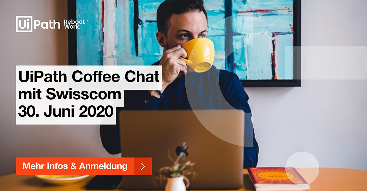 Coffee Chat Swisscom LinkedIn banner