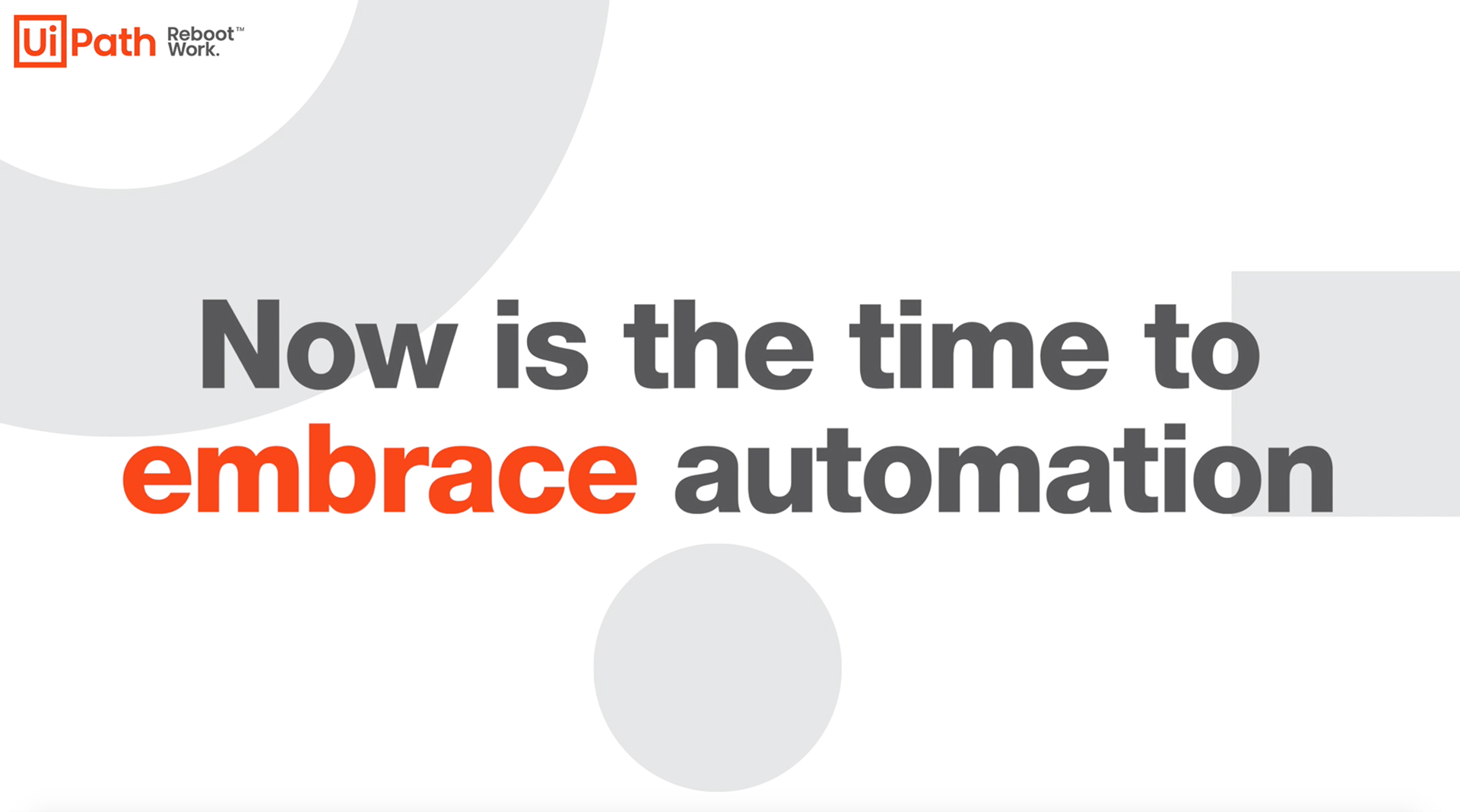 Embrace Automation Video