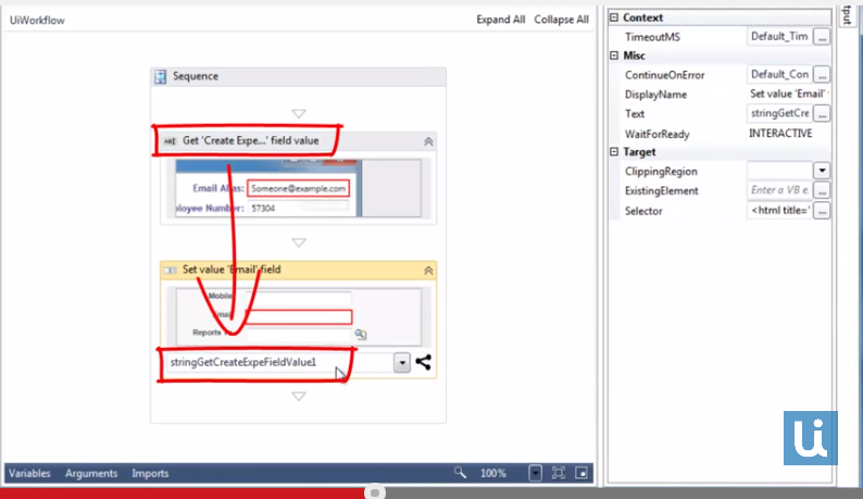 UiPath Workflow Designer: Seeing is Believing