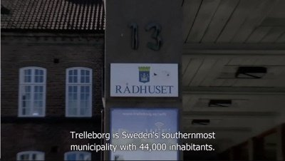 Automating administrative tasks in the Trelleborg Municipality