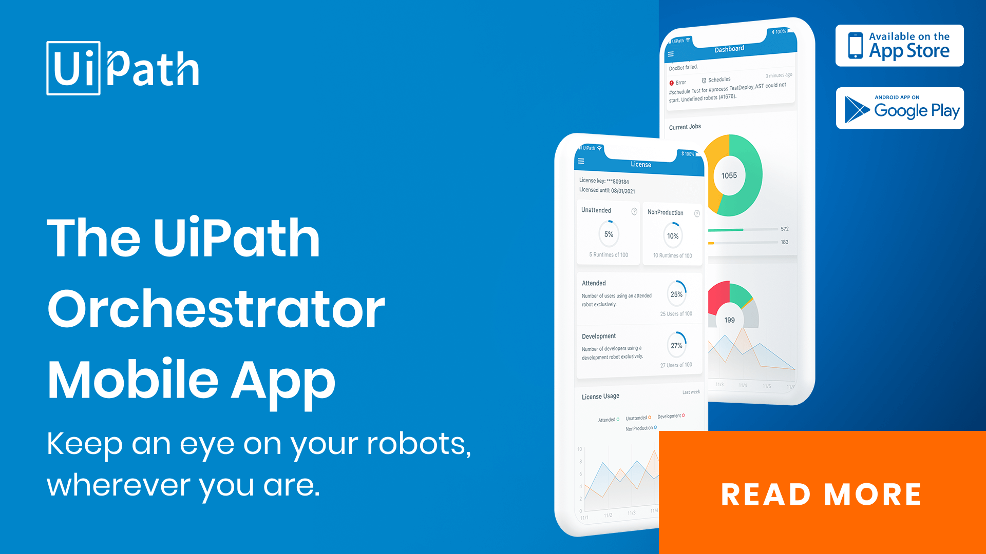 Supervise RPA On the Go: Introducing the New UiPath Orchestrator Mobile App