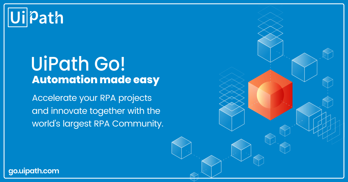 UiPath Go! your open automation ecosystem