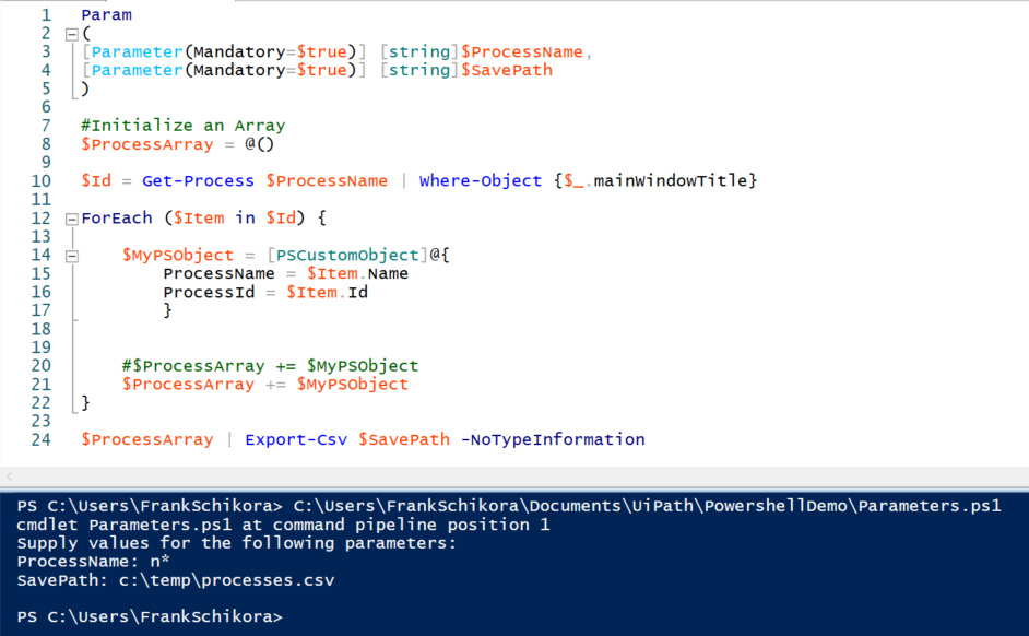 powershell ISE direct run advanced.png