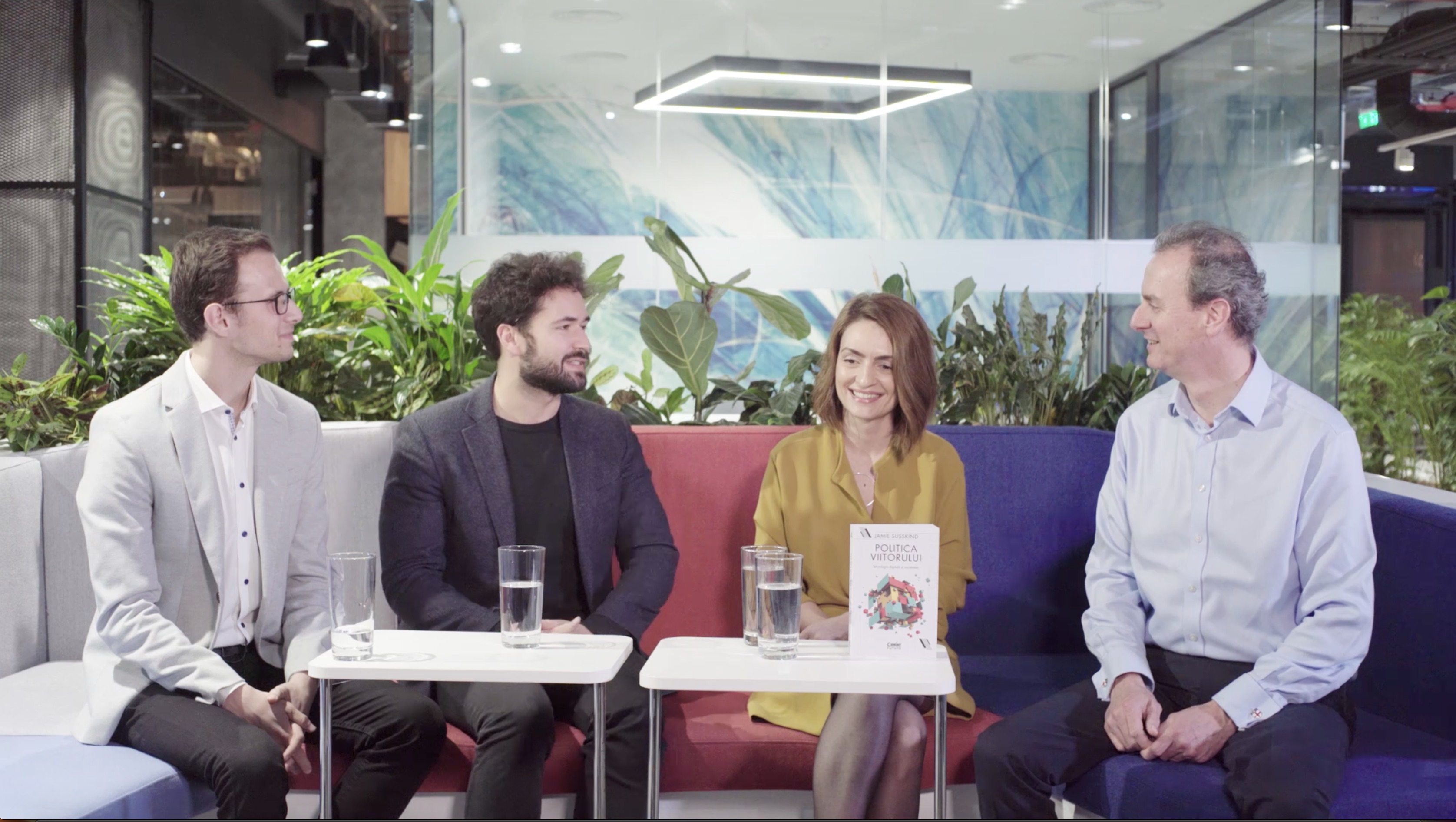 The Future of Work: A UiPath Conversation with Jamie Susskind and Google
