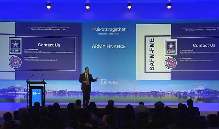 #UiPathTogether Washington DC: Army Finance with Brian Jacobs