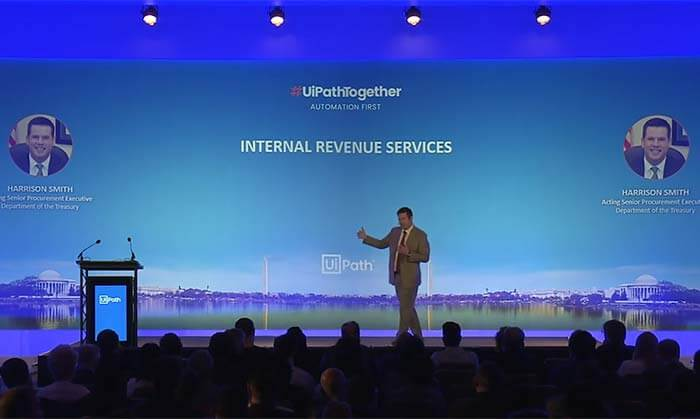 #UiPathTogether Washington DC: Internal Revenue Services with Harrison Smith
