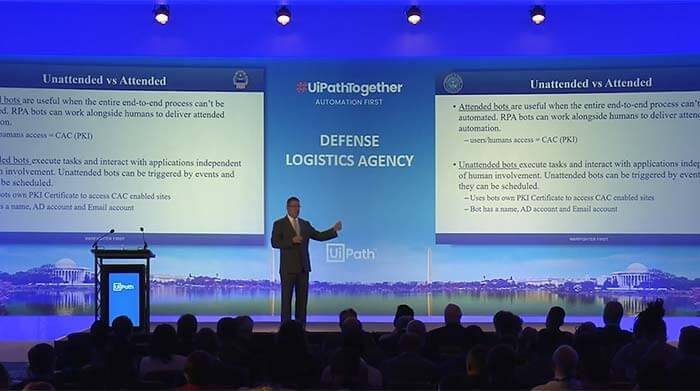#UiPathTogether Washington DC: Defense Logistics & RPA with John Lockwood