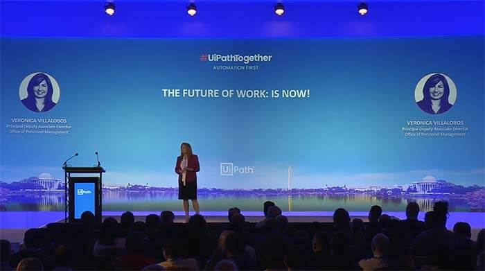#UiPathTogether Washington DC: The Future of Work is Now with Veronica Villalobos