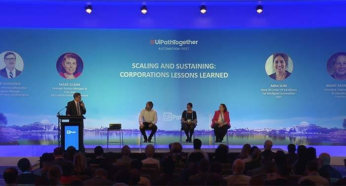 #UiPathTogether Washington DC: Lessons Learned from Scaling and Sustaining RPA