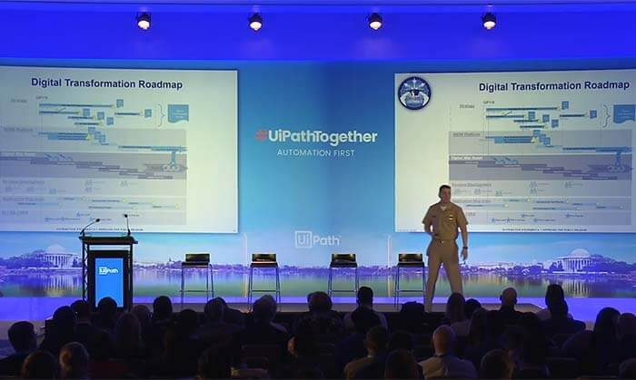 #UiPathTogether Washington DC: RPA and AI Driving Mission Success with Commander Thomas Sampson