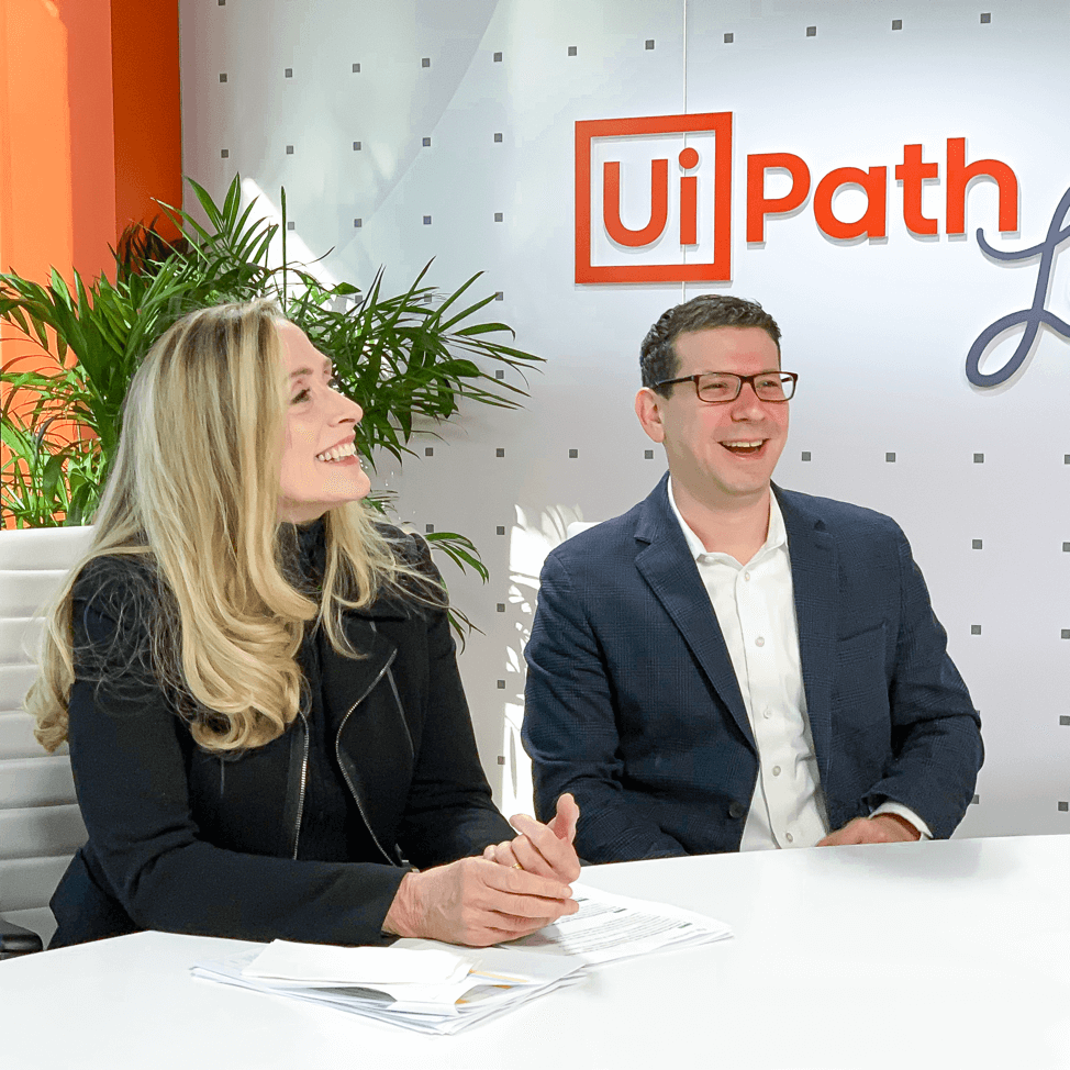 UiPath Live! Hosts in NYC Studio