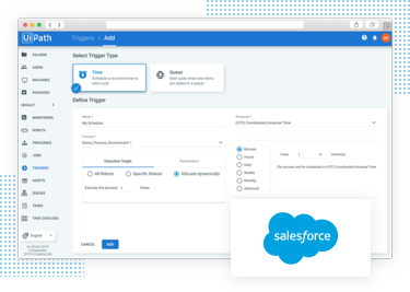 UiPath Build 04 Salesforce integration