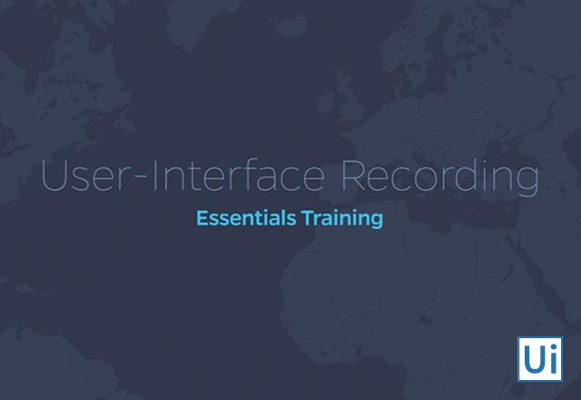 User-Interface Recording